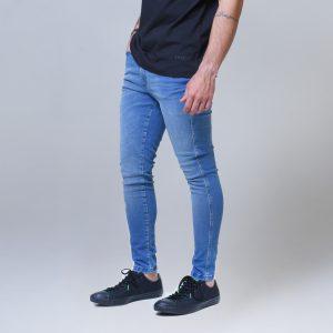 Calça Jeans Masc Skinny Azul