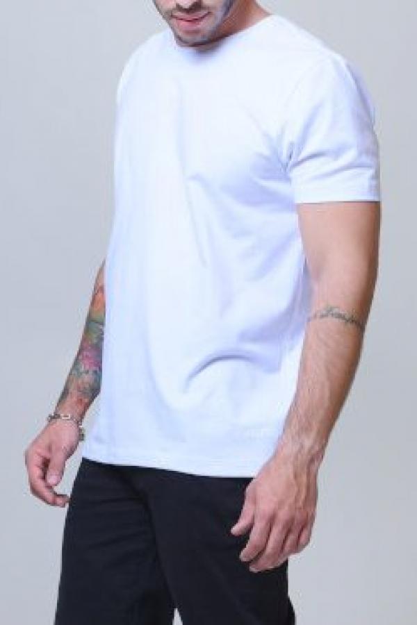 Camiseta Slim Branca