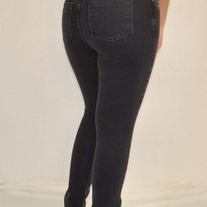 Calça Fem Jeans Skinny Zipper Externo