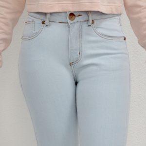 Calça Jeans Skinny Delave