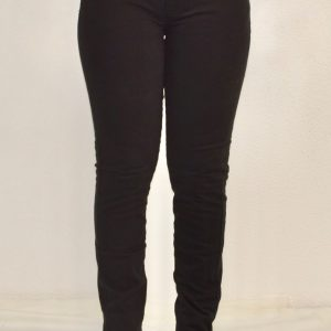 Calça Fem Jeans Skinny Preta