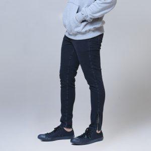 Calça Masc Jeans Skinny Zíper Externo
