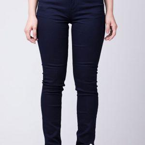 Cigarrete Fem Jeans Azul Escuro