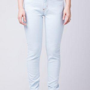 Cigarrete Fem Jeans Skinny Delave