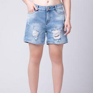 Bermuda Jeans Fem